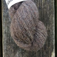 Ullcentrum 2ply Solid - Natural Brown